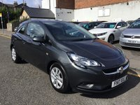 USED 2017 17 VAUXHALL CORSA 1.2 DESIGN CDTI ECOFLEX S/S 3d 74 BHP LOW MILLAGE VAUXHALL CORSA DESIGN ECOFLEW WITH STOP START TECHNOLOGY !!