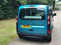 USED 2010 60 RENAULT KANGOO 1.6 EXTREME 16V 5d AUTO 105 BHP AUTOMATIC LOW MILEAGE, WAV RAMP SCOOTER/WHEELCHAIR FREE DELIVERY POSSIBLE