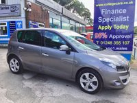 2011 RENAULT SCENIC 1.6 DYNAMIQUE TOMTOM VVT 5d 110 BHP, only 33000 miles £4995.00