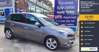 USED 2011 61 RENAULT SCENIC 1.6 DYNAMIQUE TOMTOM VVT 5d 110 BHP, only 33000 miles ***APPROVED DEALER FOR CAR FINANCE247 AND ZUTO ***