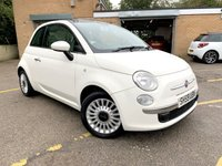 2009 FIAT 500 1.2 LOUNGE 3d GLASS PAN ROOF, BLUE  AND ME, CHEAP TAX, 67K £3190.00