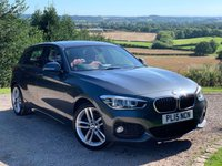 2015 BMW 1 SERIES 2.0 120D M SPORT 5d 190 BHP NAVIGATION £10985.00