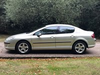 USED 2006 56 PEUGEOT 407 2.0 SE 4d AUTO 139 BHP AUTOMATIC LOW MILEAGE, AIR CON, FINANCE ME TODAY-UK DELIVERY POSSIBLE