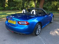 USED 2017 66 FIAT 124 1.4L SPIDER MULTIAIR LUSSO PLUS 2d 139 BHP ..FULL SPEC CAR..
