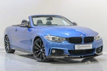 2015 BMW 4 SERIES 2.0 420D M SPORT 2d AUTO 181 BHP £19490.00