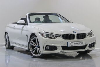 2015 BMW 4 SERIES 2.0 420D M SPORT 2d AUTO 181 BHP £17990.00