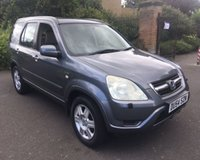 2004 HONDA CR-V I-VTEC EXECUTIVE £2999.00