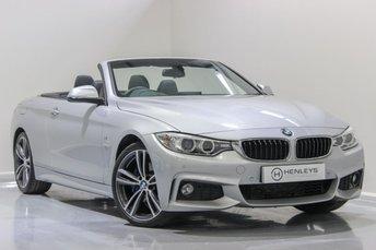 2015 BMW 4 SERIES 2.0 420D M SPORT 2d AUTO 181 BHP £18490.00