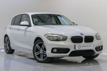 2016 BMW 1 SERIES 1.5 118I SPORT 5d 134 BHP £12490.00