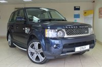 2012 LAND ROVER RANGE ROVER SPORT 5.0 V8 HSE 5d AUTO 510 BHP £23950.00