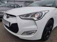 USED 2012 12 HYUNDAI VELOSTER 1.6 4dr FULL SERVICE HISTORY+LOW MILES