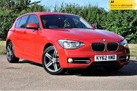 2012 BMW 1 SERIES 1.6 114i Sport Sports Hatch 5dr £6990.00
