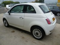USED 2013 13 FIAT 500 1.2 Lounge (s/s) 3dr 12 MONTHS ROAD TAX £30.00 !!!