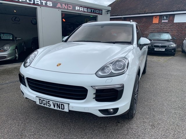 PORSCHE CAYENNE at Euxton Sports and Prestige