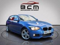 2013 BMW 1 SERIES 2.0 116D M SPORT 5d 114 BHP £8885.00