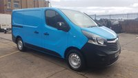 USED 2015 65 VAUXHALL VIVARO 1.6 2900 L1H1 CDTI P/V 1d 118 BHP 1OWNER F/S/H X BRITISH GAS VAN SWB FREE 12 MONTHS WARRANTY COVER