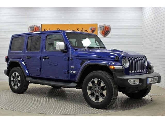 USED 2018 68 JEEP WRANGLER 2.0 GME Overland Auto 4WD (s/s) 4dr **FULL LEATHER*REV-CAM*NAV**