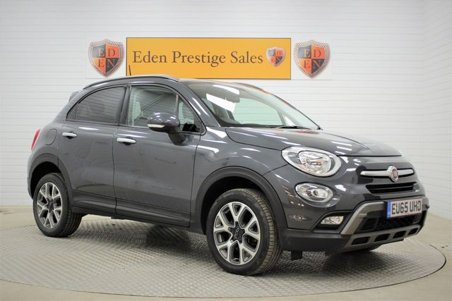 USED 2015 65 FIAT 500X 2.0 MultiJetII Cross Auto 4WD (s/s) 5dr CLIMATE*1/2 LEATHER*BLUETOOTH