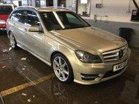 USED 2012 61 MERCEDES-BENZ C CLASS 2.1 C250 CDI BLUEEFFICIENCY SPORT 5d AUTO 202 BHP FULL Mercedes Benz MAIN DEALER SERVICE HISTORY
