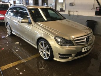 2012 MERCEDES-BENZ C CLASS 2.1 C250 CDI BLUEEFFICIENCY SPORT 5d AUTO 202 BHP £8995.00