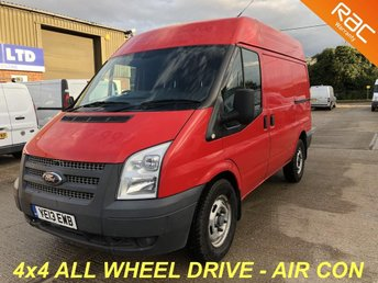 2013 FORD TRANSIT 2.2 330 SWB MED ROOF AWD 4X4 125 BHP £4500.00