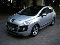 2010 PEUGEOT 3008 1.6 EXCLUSIVE HDI 5d AUTO 110 BHP £2989.00