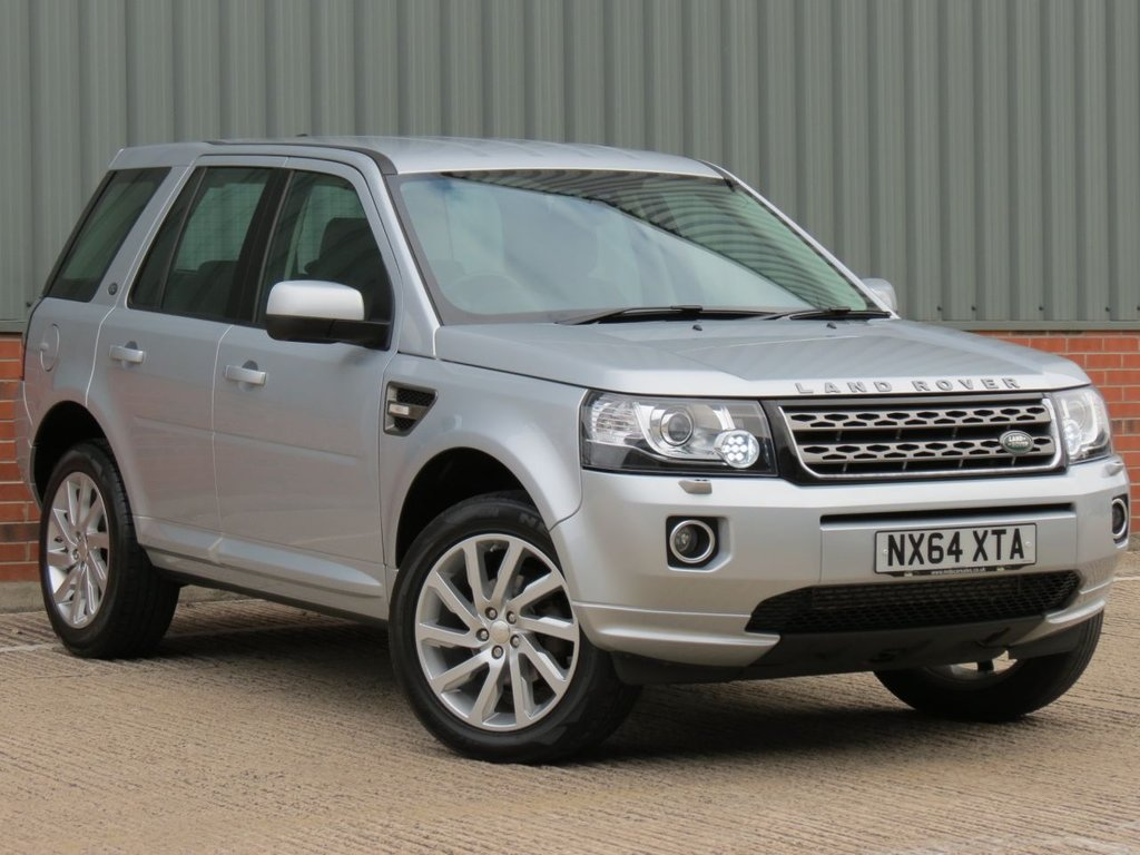USED 2014 64 LAND ROVER FREELANDER 2.2 TD4 SE TECH 5d 150 BHP ONE OWNER AND FULL LAND ROVER SERVICE HISTORY