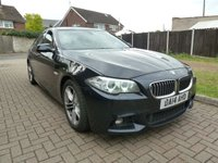 USED 2014 14 BMW 5 SERIES 3.0 530D M SPORT 4d AUTO 255 BHP 1 PRE OWNER, FULL SRV HISTORY