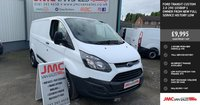 USED 2017 67 FORD TRANSIT CUSTOM 2.0 290 105BHP 1 OWNER FROM NEW FULL SERVICE HISTORY LOW MILES