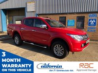 USED 2015 65 MITSUBISHI L200 2.4 DI-D 4X4 WARRIOR DCB 1d 178 BHP WARRIOR SPEC TRUCK LOW MILEAGE PRICED TO SELL!!!!