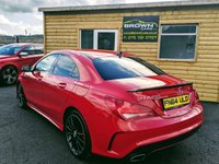 USED 2014 64 MERCEDES-BENZ CLA 1.8 CLA200 CDI AMG SPORT 4d 136 BHP ****FINANCE THIS CAR FROM £66 A WEEK****