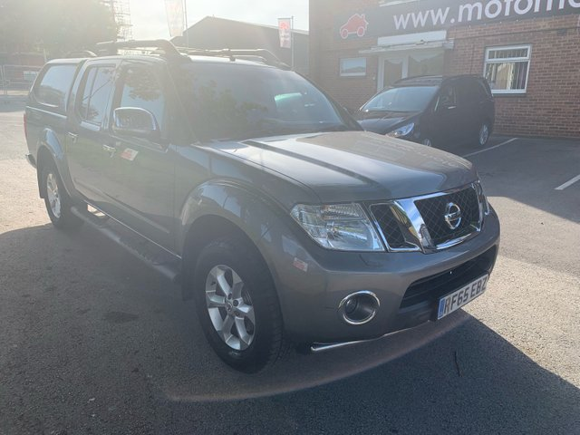 USED 2015 65 NISSAN NAVARA 2.5 DCI SALOMON 4X4 SHR DCB 1d AUTO 188 BHP EXCELLENT EXAMPLE WITH SERVICE HISTORY, ALLOY WHEELS, FULL ELECTRIC LEATHER SEATS, ELECTRIC WINDOWS, ELECTRIC DOOR MIRRORS, 2X KEYS