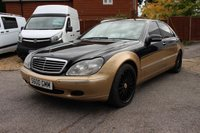 2000 MERCEDES-BENZ S 600 6.0 SALOON AUTOMATIC 4 DOOR LWB V12 367 BHP £3995.00