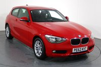 USED 2012 62 BMW 1 SERIES 1.6 114I SE 3d 101 BHP 2 OWNERS From New SERVICED AT BMW