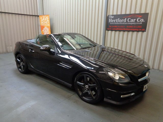 2012 62 MERCEDES-BENZ SLK 2.1 SLK250 CDI BLUEEFFICIENCY AMG SPORT 2d AUTO 204 BHP