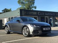 USED 2017 17 AUDI TT Coupe TT S LINE BLACK EDITION TSI