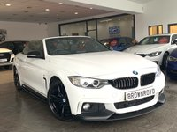 USED 2014 14 BMW 4 SERIES 2.0 420D M SPORT 2d AUTO 181 BHP BM PERFORMANCE STYLING+PRO NAV