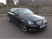 USED 2013 62 MERCEDES-BENZ C-CLASS C200 CDI 2.1 BLUEEFFICIENCY AMG SPORT AUTO SALOON 136 BHP