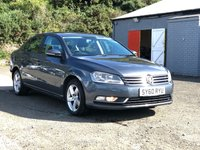 USED 2011 60 VOLKSWAGEN PASSAT 1.6 S TDI BLUEMOTION TECHNOLOGY 4d 104 BHP 30 POUND ROAD TAX *   FULL SERVICE HISTORY *  DIESEL *  CLIMATE CONTROL *  FULL YEAR MOT *