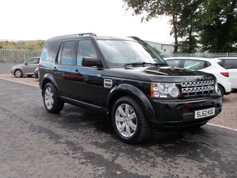 2012 LAND ROVER DISCOVERY 3.0 4 SDV6 GS 5d AUTO 255 BHP £14650.00