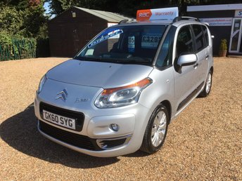 2010 CITROEN C3 PICASSO 1.6 PICASSO EXCLUSIVE HDI 5d 90 BHP £3290.00