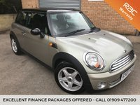 USED 2007 07 MINI HATCH COOPER 1.6 COOPER 3d 118 BHP 89,000 Miles, With 8 Services, Half Leather, 2 Keys