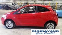 USED 2013 FORD KA 1.2 ZETEC 3d 69 BHP Only £30 Road Tax & 16,000 Miles, Pre Sale Service & 12 Mths MOt, Air Con