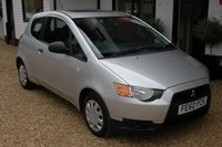 USED 2010 60 MITSUBISHI COLT 1.1 CZ1 3d 75 BHP A one owner, ultra low mileage Colt with Service History and an Electric Glass Sunroof