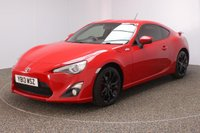 USED 2013 13 TOYOTA GT86 2.0 D-4S 2DR HALF LEATHER SEATS 197 BHP SERVICE HISTORY + HALF LEATHER SEATS + BLUETOOTH + CRUISE CONTROL + CLIMATE CONTROL + DAB RADIO + ELECTRIC WINDOWS + RADIOI/CD/AUX/USB + ELECTRIC MIRRORS + 17 INCH ALLOY WHEELS
