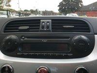 USED 2012 12 FIAT 500 1.2 LOUNGE 3d 69BHP CD+AUX+ELEC+ALARM+FSH+USB+MEDIA+