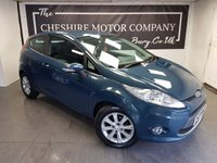 USED 2009 58 FORD FIESTA 1.2 ZETEC 3d 81 BHP + ALLOYS + 2KEYS + HISTORY