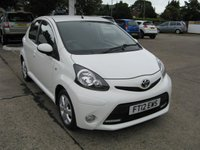 USED 2012 12 TOYOTA AYGO 1.0 VVT-I FIRE AC 5d 67 BHP
