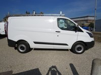 2016 FORD TRANSIT CUSTOM 270 BASE 100PS 2.2TDCi  L1 H1 VAN WITH NEW BUILDER'S ROOF RACK £8995.00