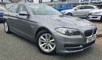 2015 BMW 5 SERIES 2.0 520D SE 4d AUTO 188 BHP £13977.00